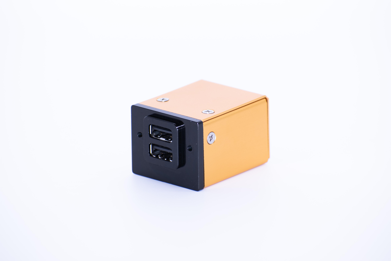 smartPower 250-101 Dual 2 7 Amp USB Power Supply for Panel Installation