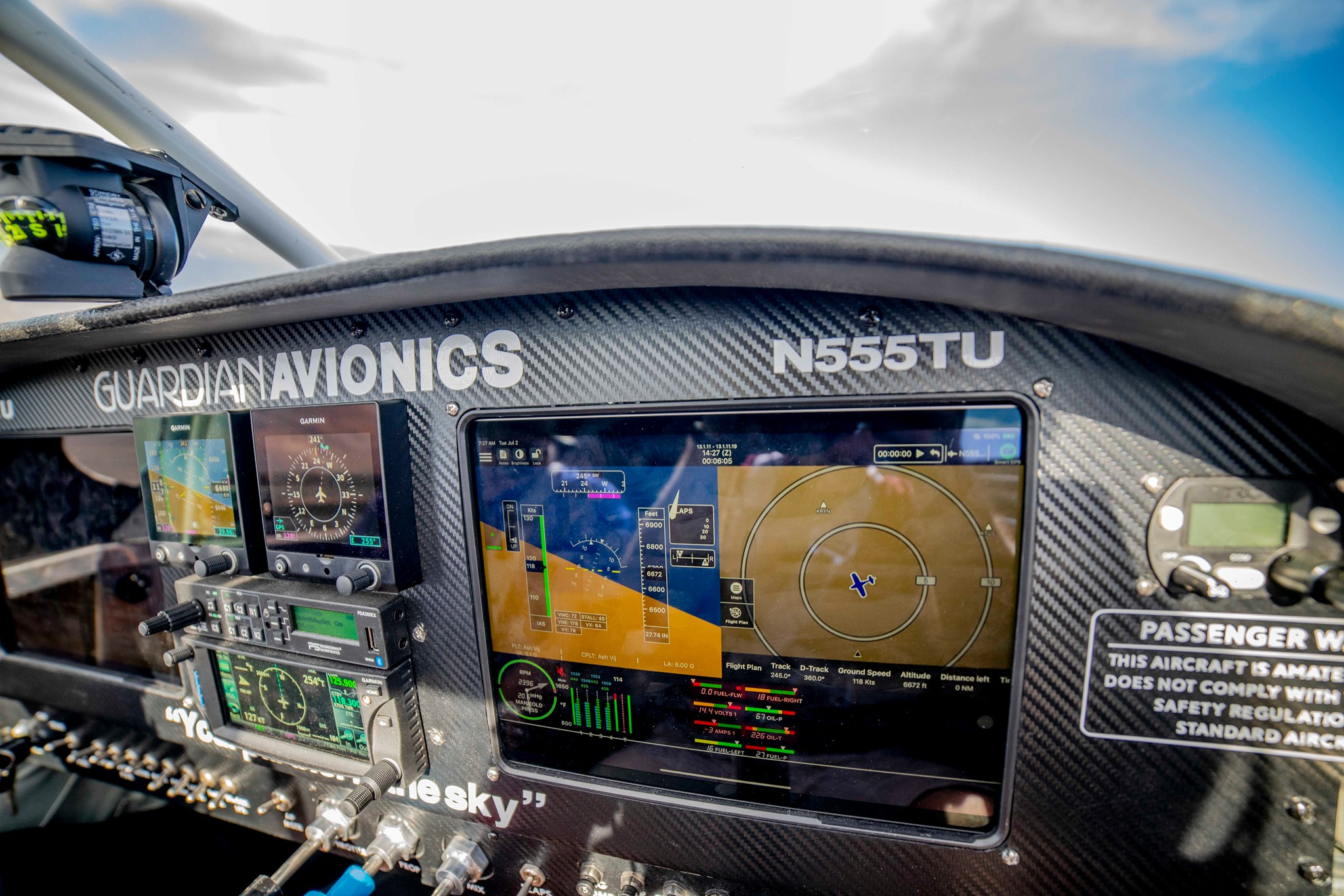 Affordable Glass Cockpit Solutions Guardian Avionics