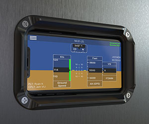 "Guardian Avionics Adds iPhone X and iPad Pro 10.5"" to Line of smartPanel Mounts for Flush Installation in Aircraft Instrument Panels"