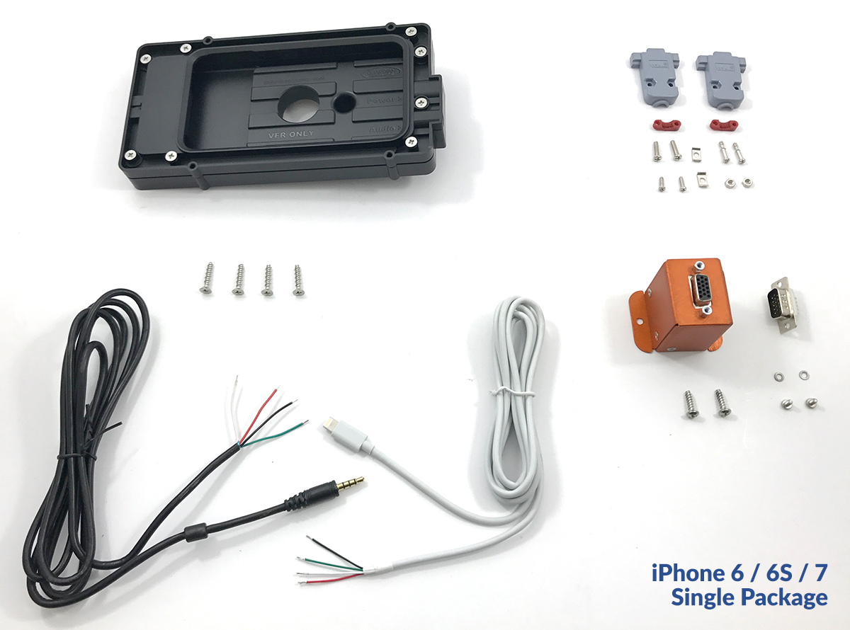 smartPanel Mount Package for Apple iPhone 6/7/8 - Aircraft