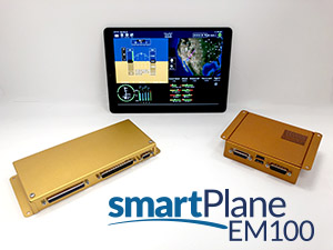 Guardian Avionics Unveils smartPlane EM100 iPad-Based Engine Monitor for smartPlane System