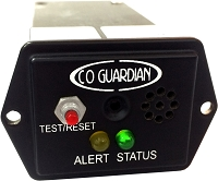 CO Guardian Aero 451-101 Panel Mount CO Detector