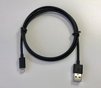 Cable Apple MFi Cert. Lightning to USB-A Male 1.1M (3.6Ft) Black