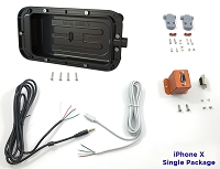 smartPanel Mount and Power Supply Package for Apple iPhone X