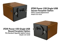 smartPower 150-101 Single USB Power Supply for Panel Installation