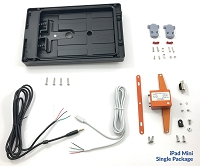 smartPanel Mount and Power Supply Package for Apple iPad Mini (1-5 All Generations)