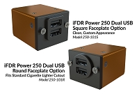 smartPower 250-101 Dual 2.7 Amp USB Power Supply for Panel Installation