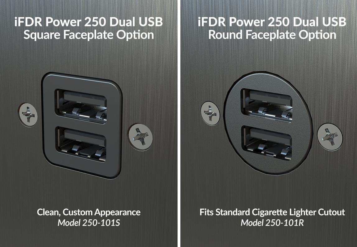 Smartpower 250 101 Panel Mount Dual Usb Power Port For Faa Certified Lighter Adapter Wiring Schematic Quick View