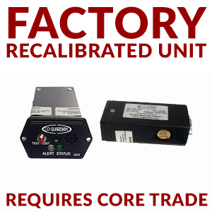 Remanufactured Unit for CO Guardian 353P-201 Remote CO Detector