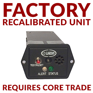 Remanufactured Unit for AERO 454-201-101 Panel CO Detector with Bluetooth